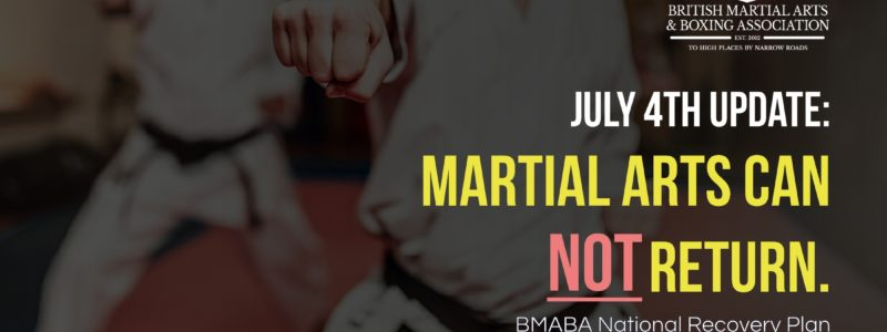 Martial Arts Can NOT Return