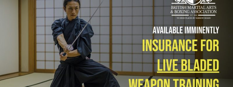 Live Bladed Weapon Training Facebook Banner